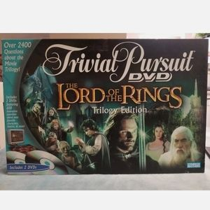 Trival Pursuit Lord of the Rings DVD Game Trilogy